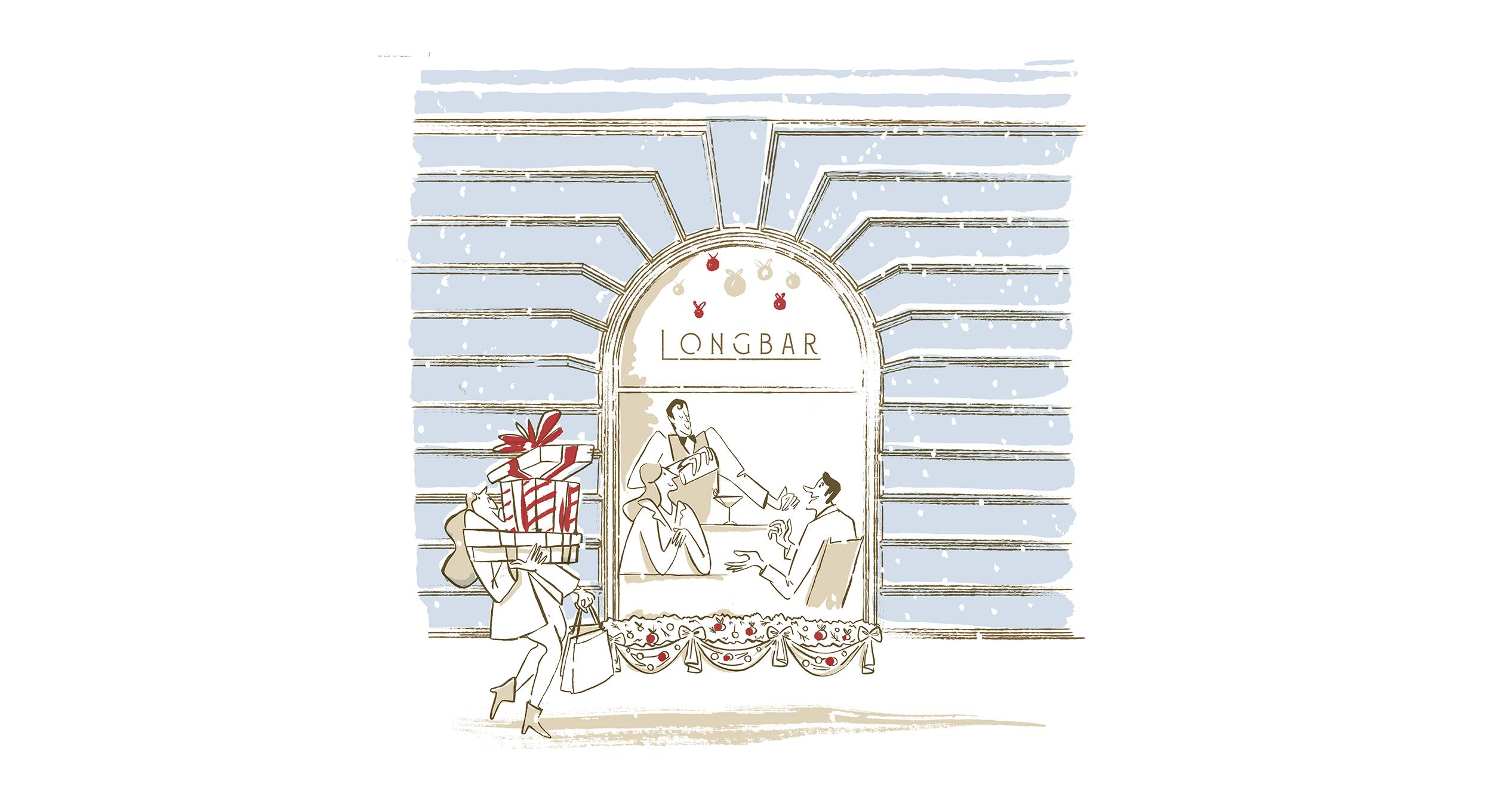 Raffles Hotel Europejski Kampania Świąteczna